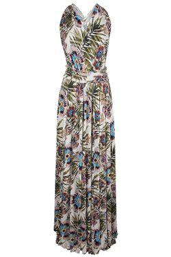 Платье Galliano                                                                                                              многоцветный цвет
