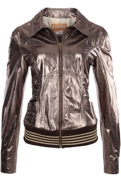 Куртка Galliano                                                                                                              коричневый цвет