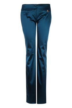 Брюки Galliano                                                                                                              синий цвет