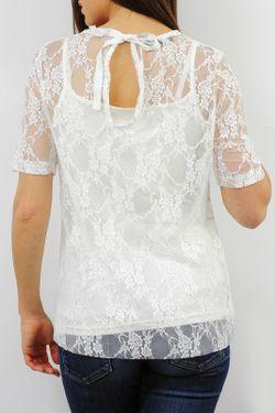 Блузка Cote anglaise                                                                                                              белый цвет