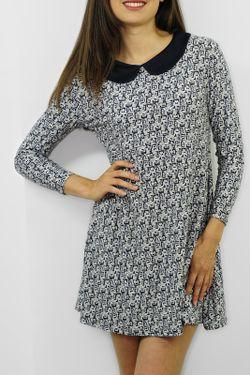Платье Cote anglaise                                                                                                              синий цвет