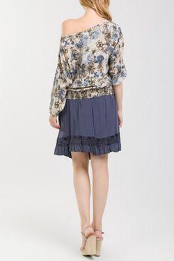 Блузка NUNA LIE                                                                                                              многоцветный цвет