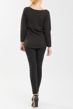 Блузка NUNA LIE                                                                                                              чёрный цвет