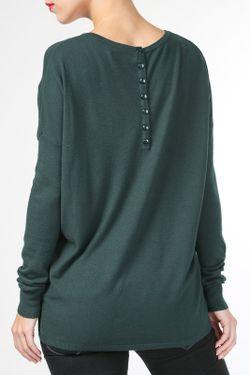 Пуловер BARBARESI                                                                                                              зелёный цвет