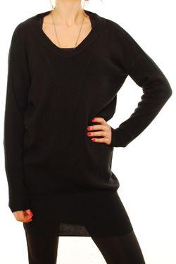 Платье Denham                                                                                                              чёрный цвет