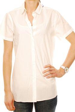 Рубашка Denham                                                                                                              белый цвет