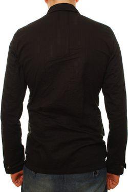 Рубашка Denham                                                                                                              черный цвет