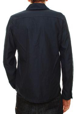 Рубашка Denham                                                                                                              синий цвет