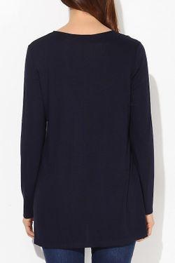 Блузка Exline                                                                                                              синий цвет