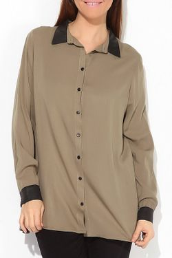 Блузка Exline                                                                                                              бежевый цвет