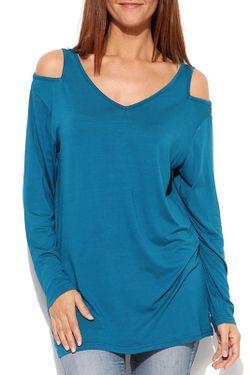 Блузка Milanesse                                                                                                              голубой цвет