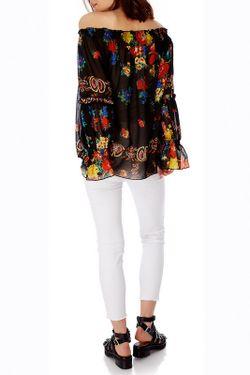 Блузка Iska                                                                                                              многоцветный цвет
