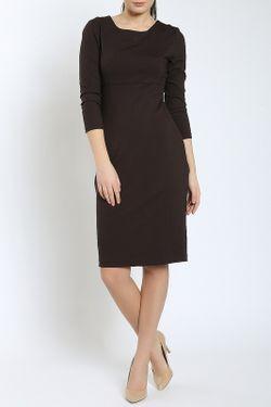 Платье Moda Di Chiara                                                                                                              коричневый цвет