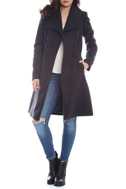 Пальто Moda Di Chiara                                                                                                              синий цвет