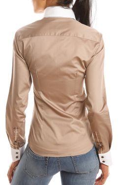 Рубашка Gazoil                                                                                                              бежевый цвет