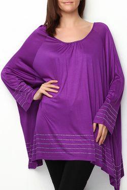 Туника Moda di Lorenza                                                                                                              фиолетовый цвет