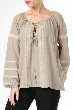 Блузка By Zoe                                                                                                              бежевый цвет