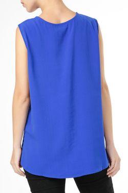 Блузка By Zoe                                                                                                              синий цвет