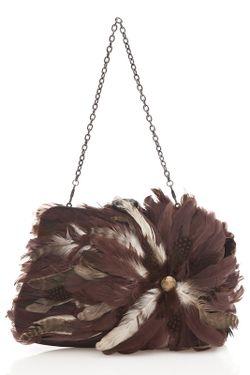 Клатч Tantra                                                                                                              коричневый цвет