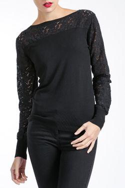 Блузка MBYMAIOCCI                                                                                                              чёрный цвет