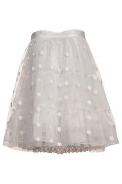 Юбка Myrine                                                                                                              белый цвет
