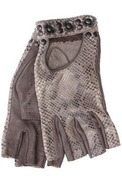 Перчатки K.LAGERFELD PARIS D.                                                                                                              коричневый цвет