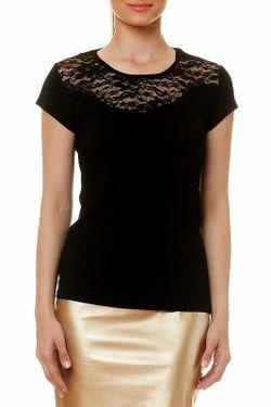 Блузка Selfie                                                                                                              чёрный цвет