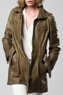 Куртка DERI&MOD                                                                                                              зелёный цвет