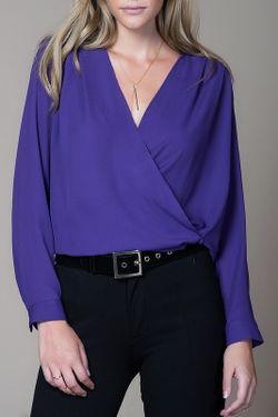 Блузка Milla                                                                                                              синий цвет
