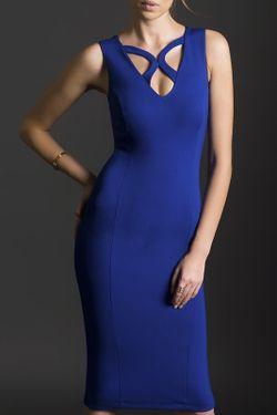 Платье Milla                                                                                                              синий цвет
