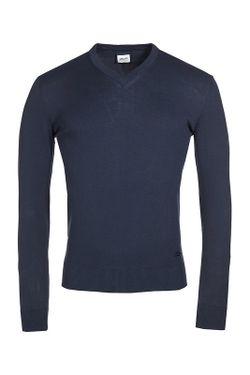 Пуловер Armani Collezioni                                                                                                              синий цвет