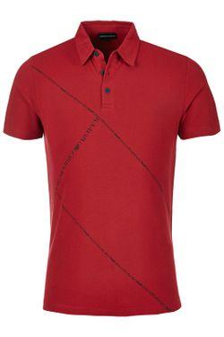 Рубашка-Поло Emporio Armani                                                                                                              красный цвет