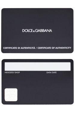 Сумка Dolce & Gabbana                                                                                                              чёрный цвет
