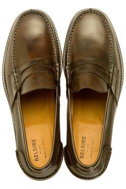 Ботинки BELSIRE MILANO                                                                                                              коричневый цвет