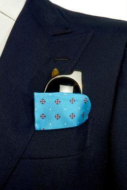 Платок BELSIRE MILANO                                                                                                              синий цвет
