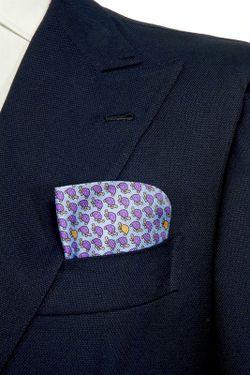 Платок BELSIRE MILANO                                                                                                              фиолетовый цвет