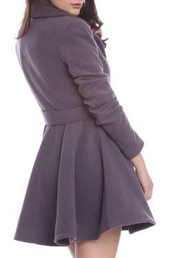 Пальто Moda Di Chiara                                                                                                              серый цвет