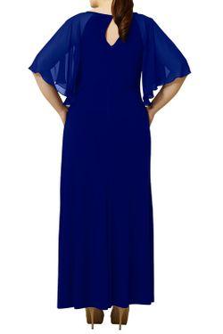 Платье VIVIANA                                                                                                              синий цвет