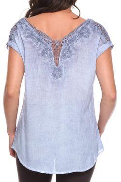 Блузка Zer Otanik                                                                                                              синий цвет