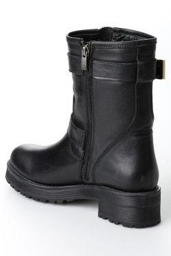 Ботинки Bambi                                                                                                              чёрный цвет