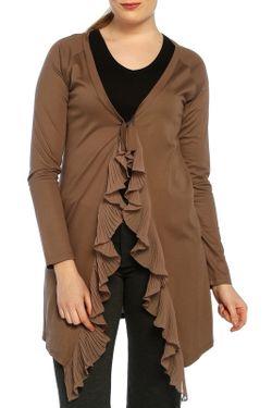 Кардиган Milanesse missy                                                                                                              коричневый цвет