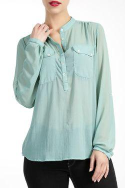 Блузка Lea Fashion                                                                                                              зелёный цвет