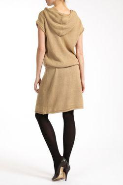 Платье Lea Fashion                                                                                                              бежевый цвет