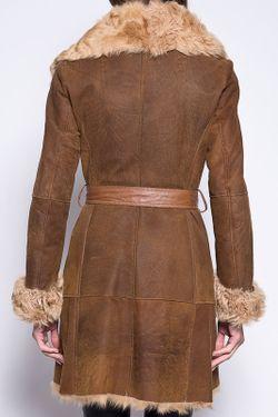 Дубленка Giorgio                                                                                                              коричневый цвет