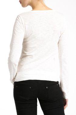 Лонгслив Lea Fashion                                                                                                              белый цвет
