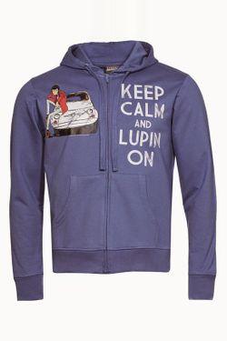 Толстовка Lupin                                                                                                              синий цвет