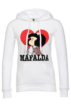 Толстовка Mafalda                                                                                                              белый цвет
