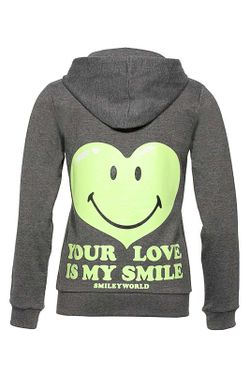 Толстовка SMILEY WORLD                                                                                                              зелёный цвет