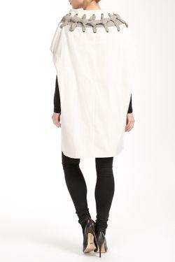 Пальто Salco                                                                                                              белый цвет