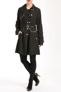 Пальто Salco                                                                                                              черный цвет